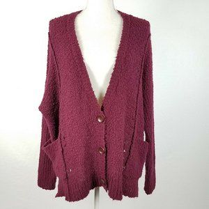Free People Fall Friend Oversized Cardigan S